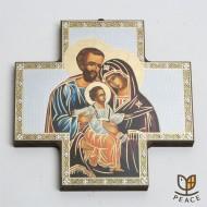 [직수입] 십자가 이콘_성가정 (15cm)