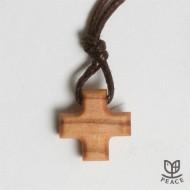 [직수입] 올리브십자가 목걸이
