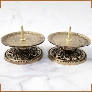 장미 아연촛대 (신주)